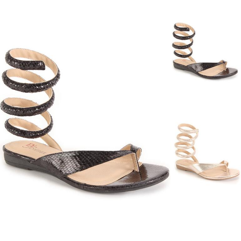 Wrap It Up Sandal by EY Boutique