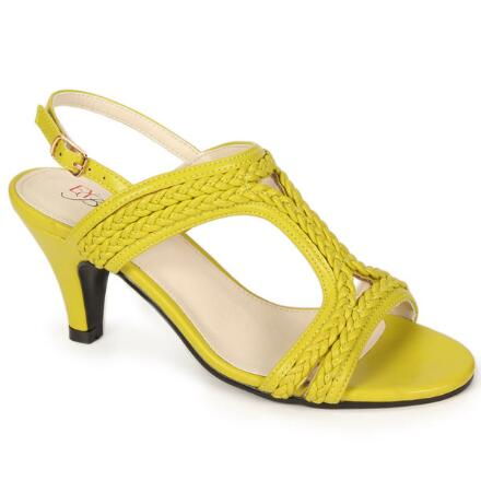 Bright 'n' Braided Slingback by EY Boutique