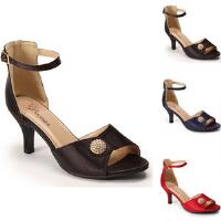 Wrapped in Satin Ankle Strap by EY Boutique