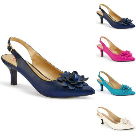 Glam-O-Rose Slingback by EY Boutique