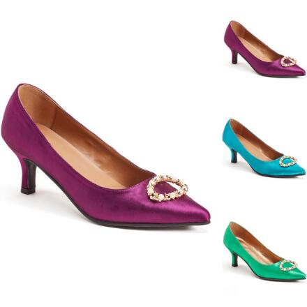 Opulent Oval Pump by EY Boutique