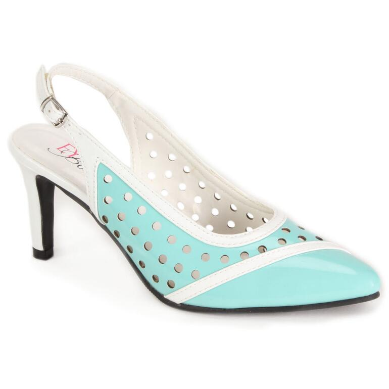 Perfectly Patent Slingback by EY Signature