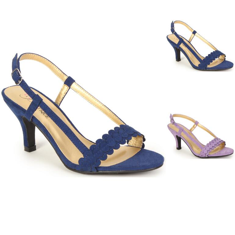 Scalloped Slingback by EY Boutique