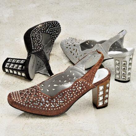 Bejeweled Slingbacks by John Fashion™