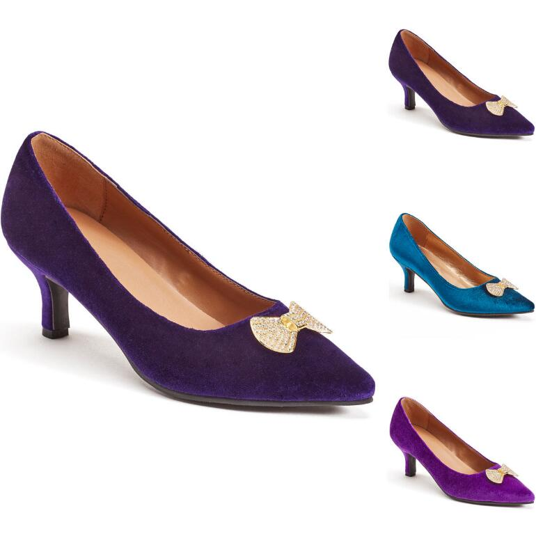 Baubles and Bows Pump BY EY Boutique