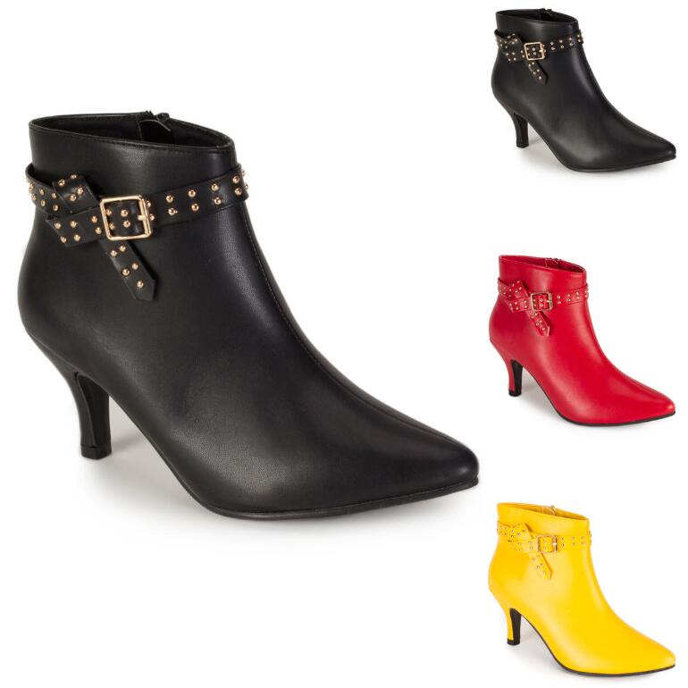 Soho Studded Bootie by EY Boutique