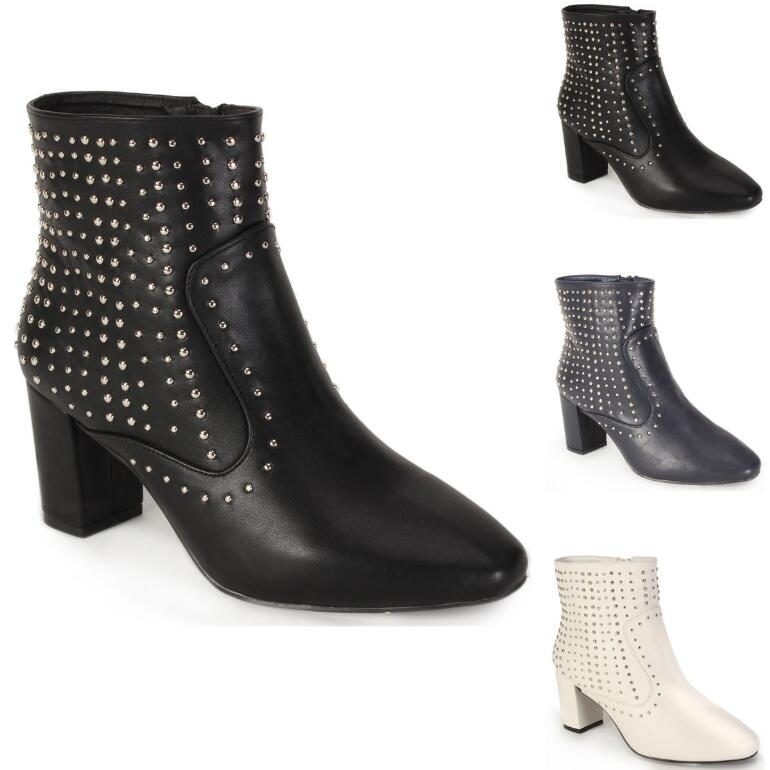 Studded Style Bootie by EY Boutique