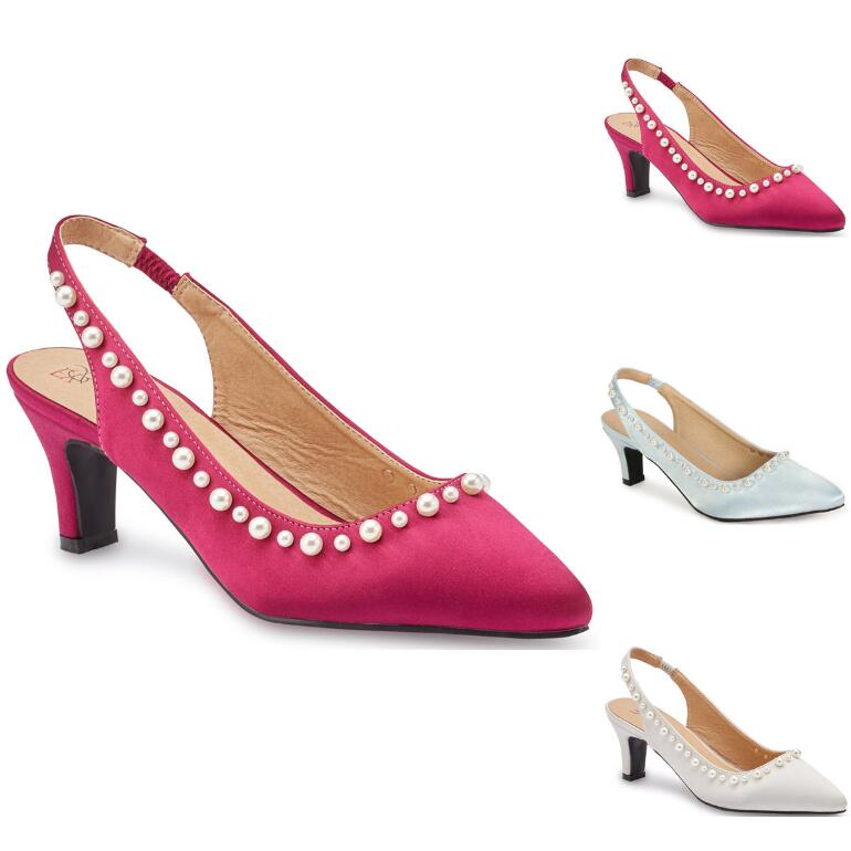 Pretty Pearl Slingback by EY Boutique