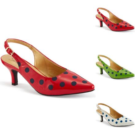 Lots of Dots Slingback by EY Boutique