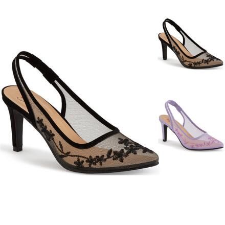 Shadows in Bloom Slingback by EY Boutique