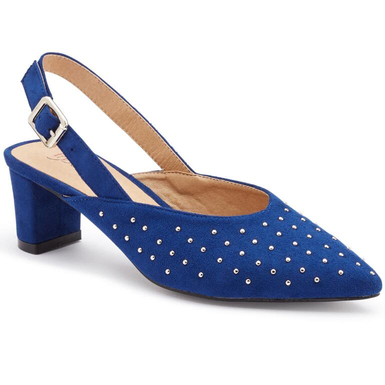 Stylist Studded Slingback by EY Boutique