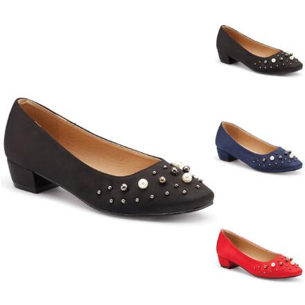 Pretty Pearls Pump by EY Boutique