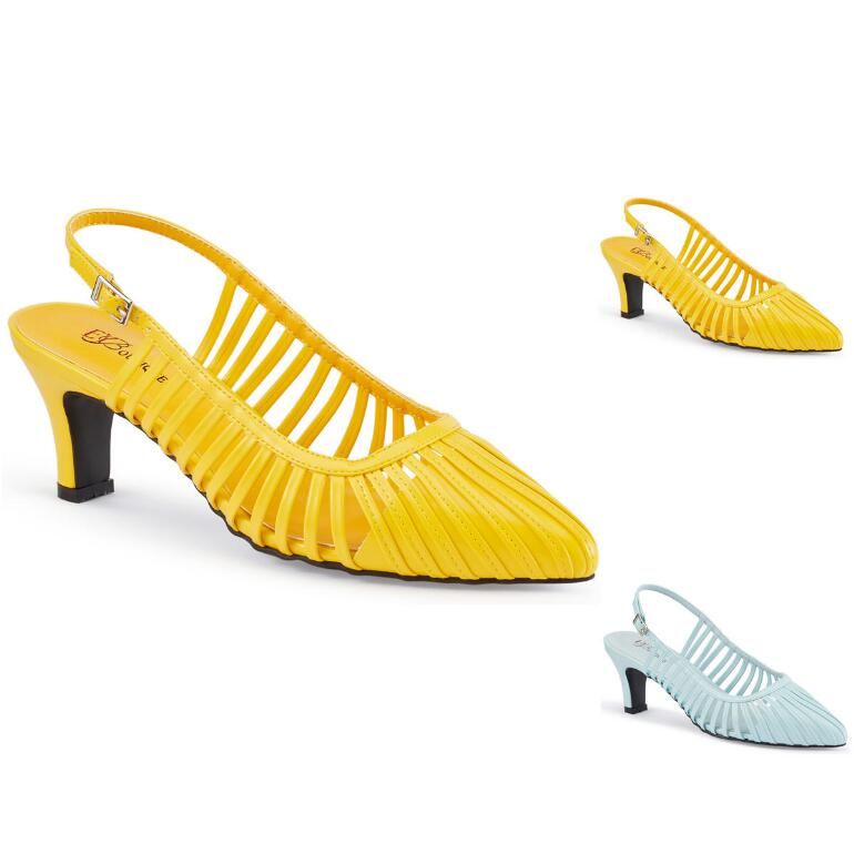 Make It Strappy Slingback by EY Boutique