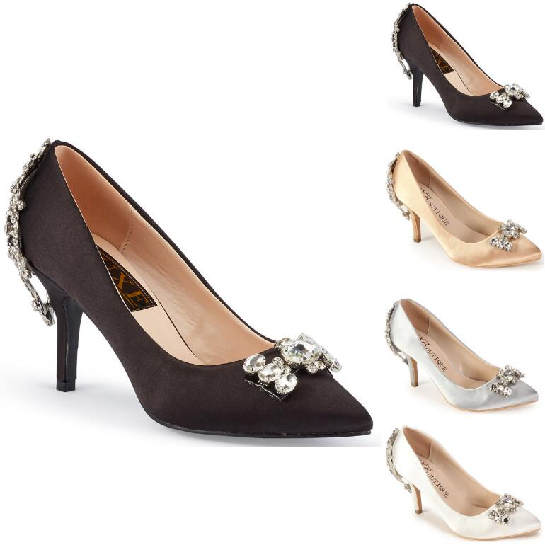 Jeweled Pump by LUXE