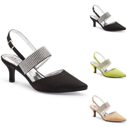 Band of Jewels Slingback by EY Boutique