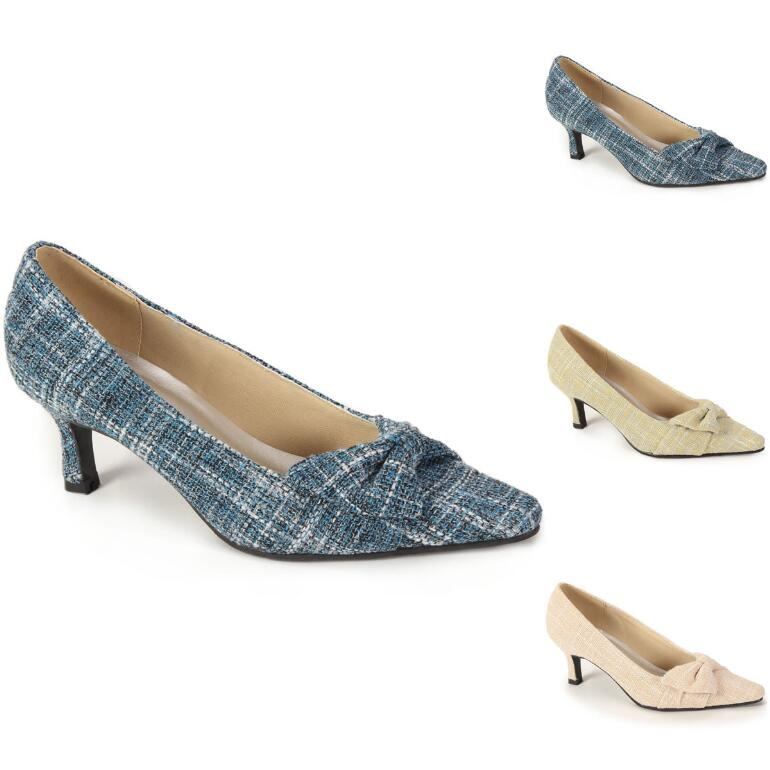 Side-Swept Bow Pump by EY Boutique