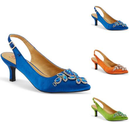 Treasure of Jewels Slingback by EY Boutique