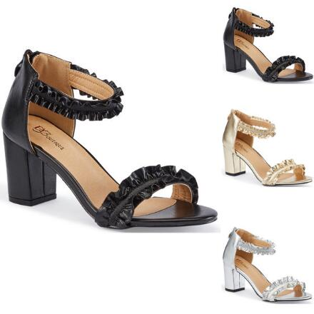Never Enough Ruffles Sandal by EY Boutique