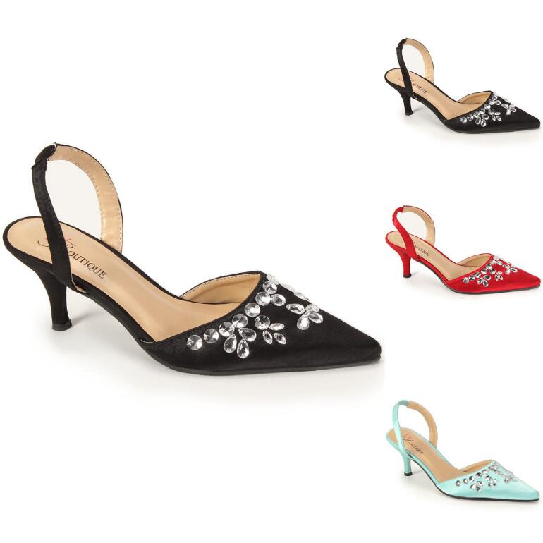 Jeweler's Choice Slingback by EY Boutique