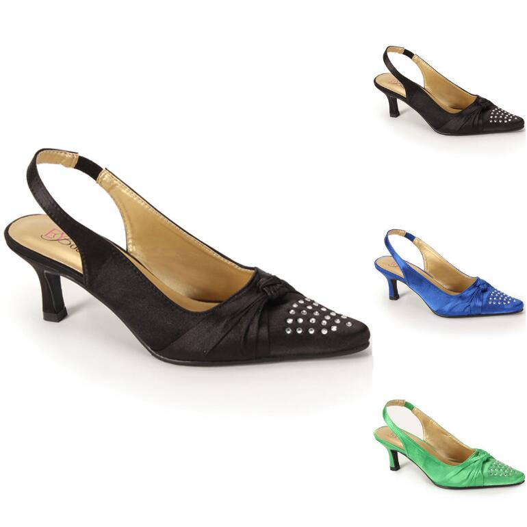 Jewels 'n' Bows Slingback by EY Boutique