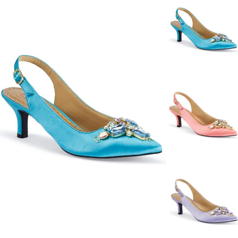 Gemma Jewels Slingback by EY Boutique