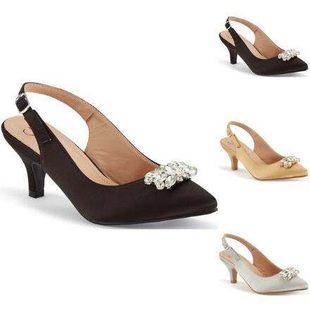 Jewel Box Slingback by EY Boutique