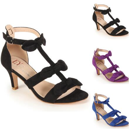 Love Those Bows Sandal by EY Boutique
