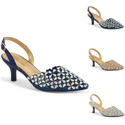 Shine Time Slingback by EY Boutique