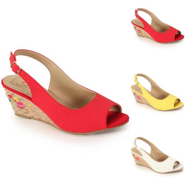 Artisan Wedge Slingback by EY Boutique