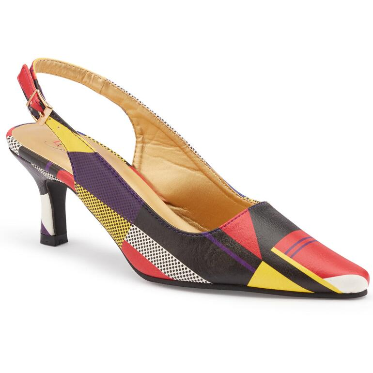 Dash of Dashiki Slingback by EY Boutique