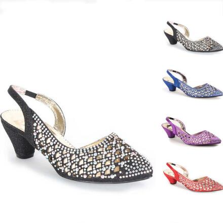 Jeweled Lattice Slingbacks by John Fashion™