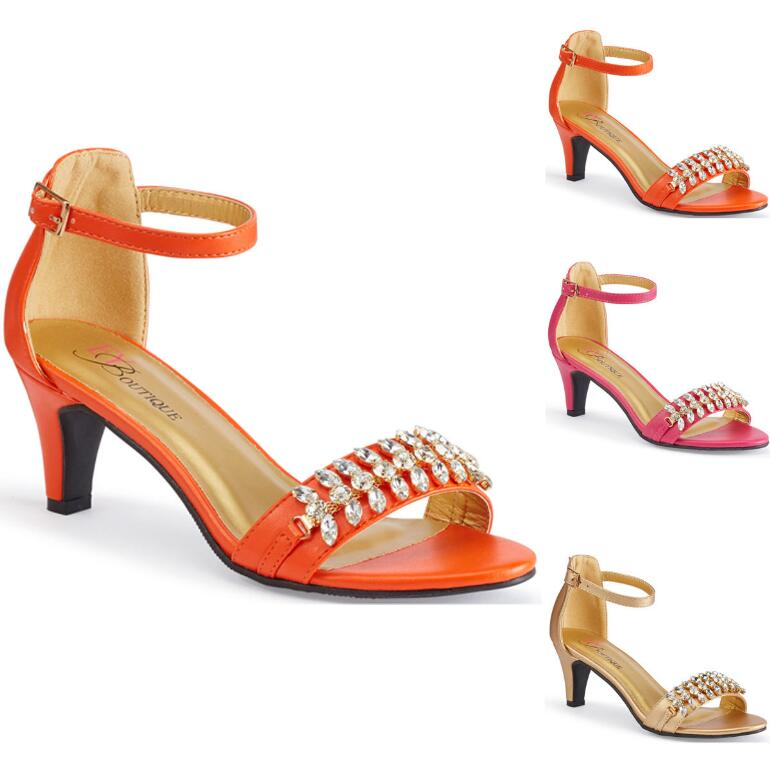 Facets of Fashion Sandal by EY Boutique