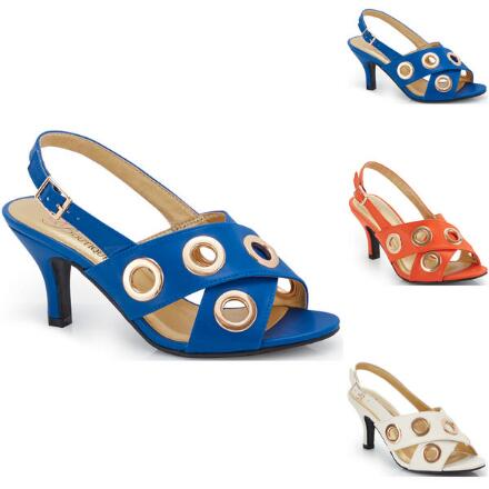 Great Grommets Sandal by EY Boutique