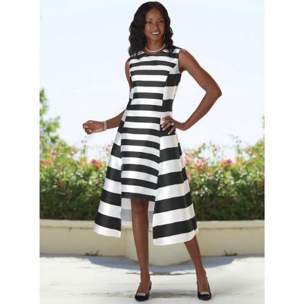 Simply Stripes Dress by Dorinda Clark-Cole