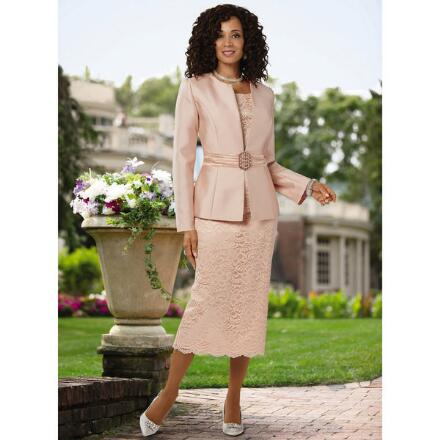 Elegantly Yours 3-Pc. Suit by Giovanna
