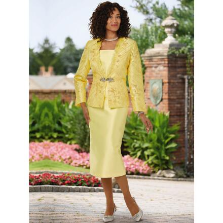 Elegance at a Glance Suit by Susanna