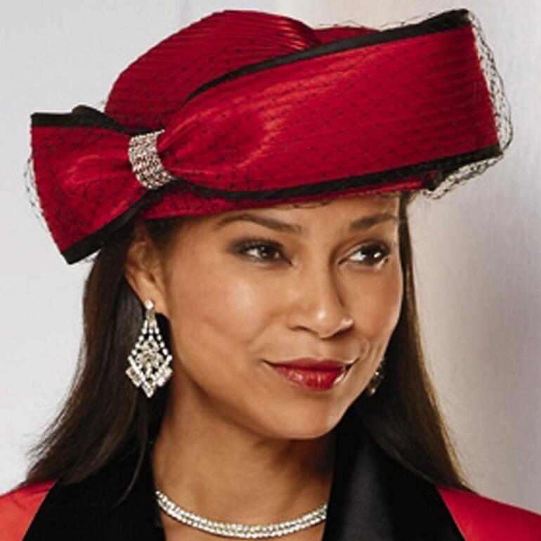 Expressions of Elegance Church Hat by LUXE