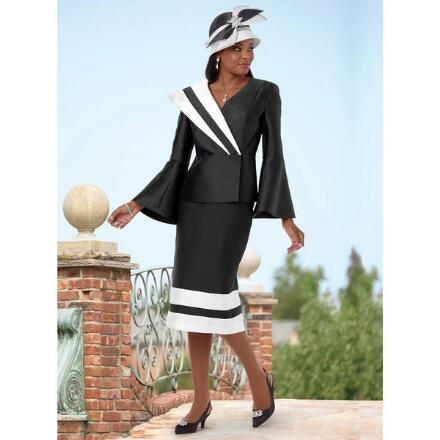Outstanding Outlines Suit by EY Boutique