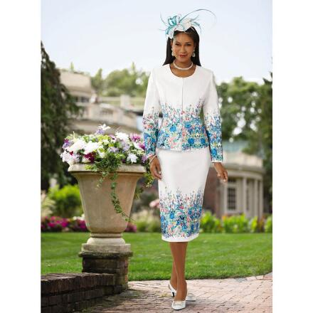 Field of Flowers Suit by EY Boutique