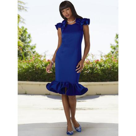 Standout in Style Dress by EY Boutique