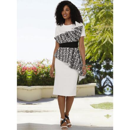 Spotlight on Snow Leopard Dress by EY Boutique