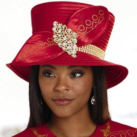 Glitz 'n' Glitter Church Hat by EY Boutique