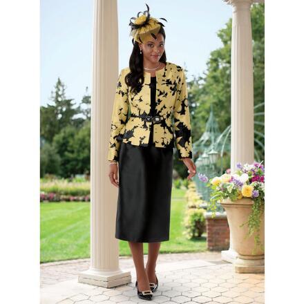 Floral Impression Suit by EY Boutique