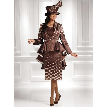 The Dazzle of Diamonds 3-Pc. Suit by EY Boutique
