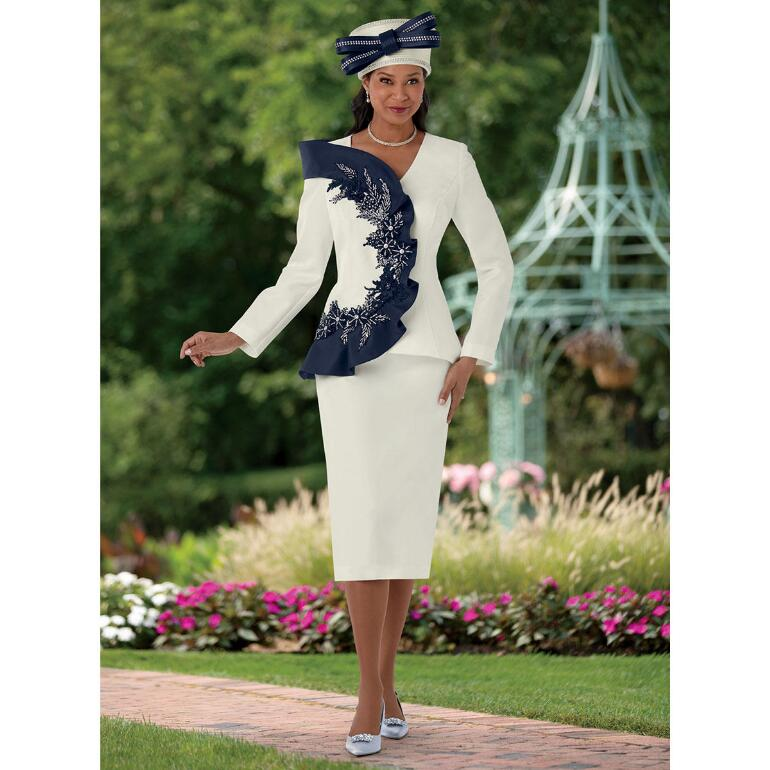 Curve of Couture Suit by EY Boutique