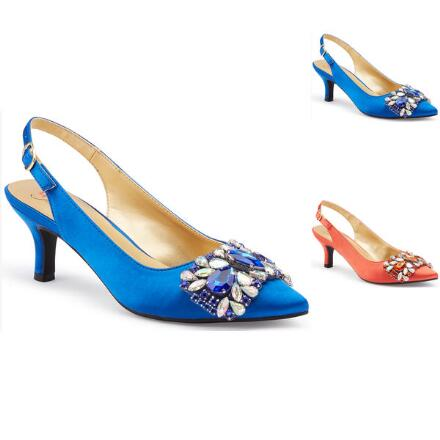 Band of Crystals Slingback by EY Boutique