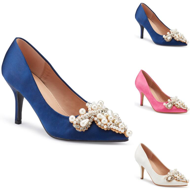 Pearls and Shine Pump by EY Boutique