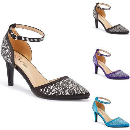 Starshine Jeweled Ankle Strap by EY Boutique