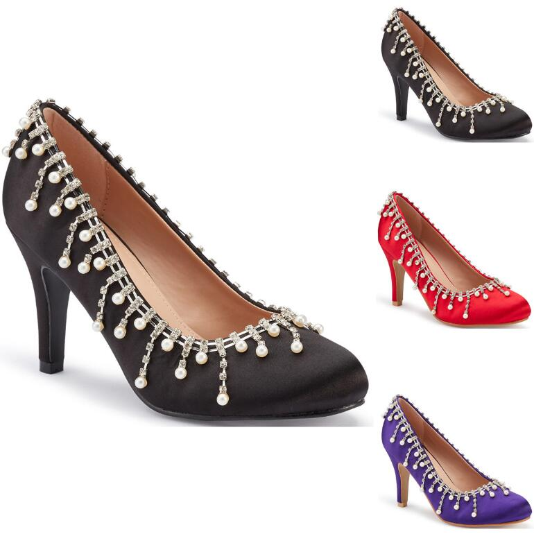 Cascade of Jewels Pump by EY Boutique