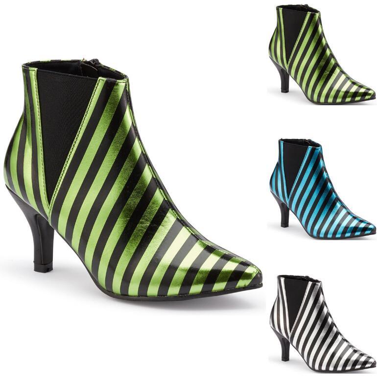 Stripe It Rich Bootie by EY Boutique